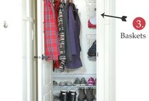 Coat and shoes cabinets