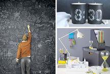 La pittura lavagna  Chalkboard paint