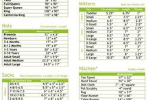 Baby clothes sizing charts