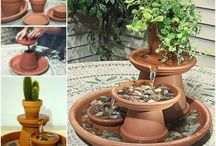 Fountains | Home Decorating / This board is for various types of fountains, DIY fountains, fountain ideas,backyard fountains, garden fountains, and fountain how tos.