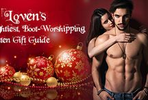 Organic Loven's Sexiest, Naughtiest, Boot-Worshipping, Spoil-Me-Rotten Gift Guide / Here you will find a Sex Goddesses Favorite Holiday Gifts!