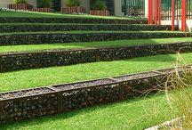 Abstufung Vorgarten
