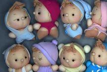 muñecos de calcetines / by Esther Aparicio