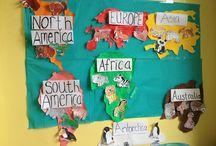 """Thema """"Unsere Welt"""" im Kindergarten"""