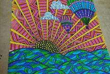 zentangle doodles ❣