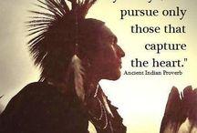 Intiaanien viisautta