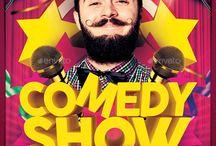 comedy night flyer 2