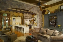 home sweet home -family room- / by Alicia Kofroth