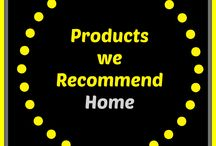 Cleaning Products we Recommend (Home) / Cleaning products we have found to be useful for the home.