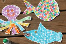 Toddler crafts / by Michelle Zimmerman Huff