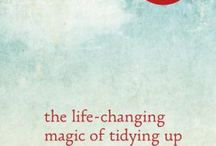 KonMari / The KonMari method is a decluttering and organizational strategy featured in the best selling book, The Life Changing Magic of Tidying Up and the sequel, Spark Joy.
