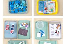 Table Top Activities for Kids / Activities that keep kids learning and engaging at the table.