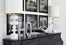 Black Home Decor