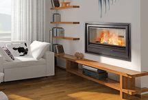 Os presento algunas chimeneas de nuestro catalogo / Con ellas podrás disfrutar de la visión del fuego de hogar al mismo tiempo que calientas tu casa. Nuestras chimeneas son autenticas calefacciones centrales que funcionan calentando agua o aire. En especial queremos recalcar nuestras chimeneas canalizables, mediante las cuales se pueden calentar distintas estancias de la vivienda, por ejemplo, con una chimenea en el salón podriamos calentar hasta 6 habitaciones!! Se instalan en un tiempo record y sin engorrosas obras!! Infórmate en el 615598590