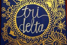 Delta Delta Delta / Anything and everything Tri Delta