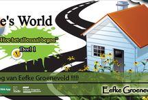 ICee Eefke's World / ICee Eefke's World is het multiculturele blog van Eefke Groeneveld. In samen werking Met Stanley ter haar presenteren zij elke woensdag een nieuwe aflevering van de blog.