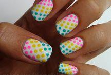 Diseños de uñas lindos