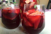 Spanska drinkar / Några drinkar som vi lagade det.