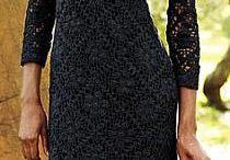 dresses on crochet