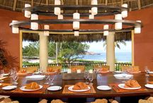 Tropical Dining at Palmasola / Guests agree, dining in the open tropical air with a view like ours makes everything taste amazing. Or, that could be the work of our incredible chefs. Either way, your meals here will be your most memorable.