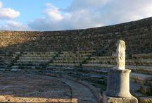 CYPRUS SALAMIS / Salamis Famagusta Древний город Саламис (Саламин), пригород Фамагусты. Северный Кипр.