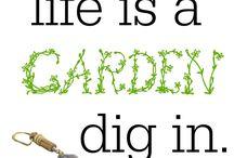 trädgårds citat
