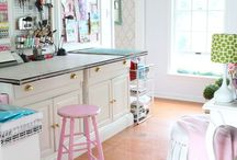 Craft rooms / by Lori Dwight Slone