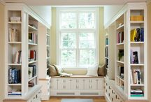 Dream Home - library / by Karise McNamee