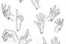 mãos! desenhos