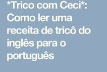inglês/ português