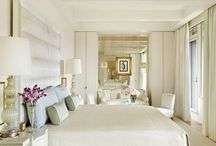 Neutral Interiors / Neutral Interiors with tone on tone, monochromatic color palettes