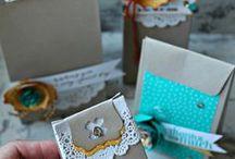 Punch Board - Gift Bag
