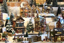 Love a Christmas Village!! / Currently I don't have the storage space, but one day I hope to have my own magical village❤️ / by Courtney Bauer
