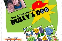 Boo to Bullies / Interactive comic strips teaching young children empathy, to prevent bully behaviour. Global Anti-Bullying Campaign. Empathy.