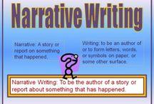 narrative writing / by Ann Chiodi