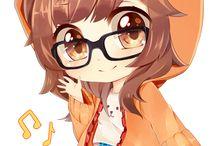 Anime / All kawaii or scary anime photos uwu