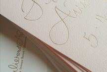 Greeting Cards - Gold Foil
