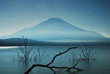Views of Mont Fuji