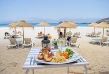 Kalimba Beach Club / Apoio de praia a 10 minutos a pé do Hotel Oásis Porto Grande na Praia da Laginha
