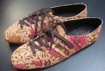shoes batik