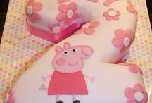 Payton's 2nd bday Peppa pig theme