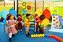 Enhancing Motor Skills / The foundation skills are important for a child to move forward in their learning journey…  The flower garden bowling game was good to develop Physical, social and emotional development.