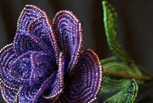 ~~Beaded Flowers~~ / by G. E. L. S.