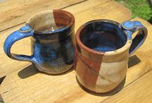Pottery cups and mugs / All kind of drinking pottery pieces such as mugs and cups.
