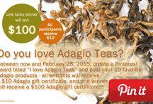 I love Adagio Teas
