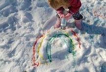 Snow Day Activities / Activities and lesson plans for young children to enjoy snow days! #ece #snowday