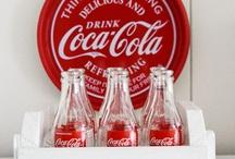 Always coca-cola / Everything coca-cola; especially the vintage coca-cola