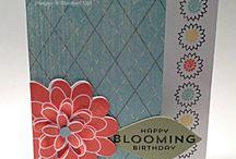 Bordering Blooms Stampin' Up! Stamp Set Greeting Cards