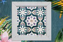 Sun Patterns - OCEAN FLOWERS Collection