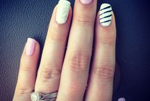Gel nail designs / by Michelle Orwig
